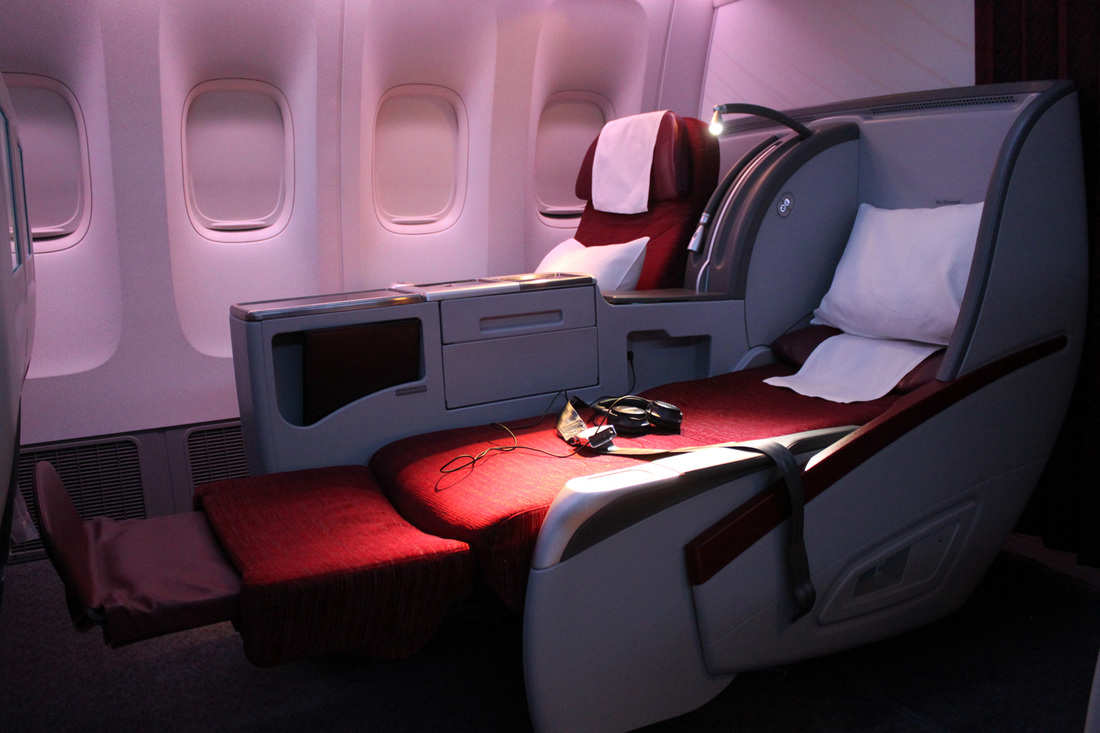 Qatar Airways Review Doha To Shanghai Pudong Business
